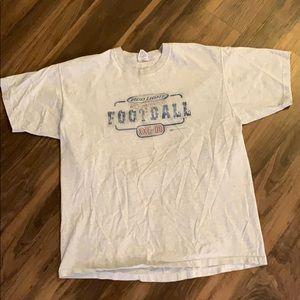 Vintage Bud Light Football Short Sleeve Shirt
